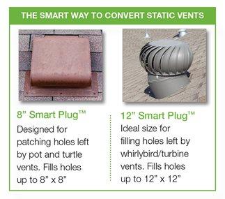 Smart Plug Roof Patch Quarrix